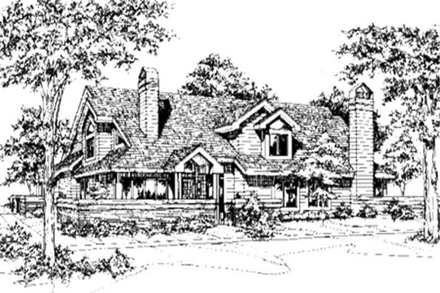 Main image for house plan # 21498