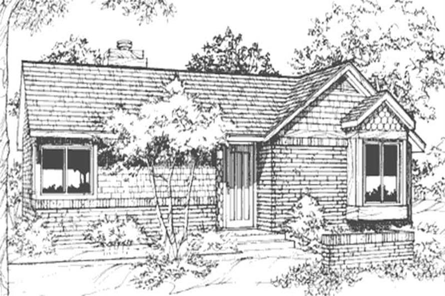 Main image for house plan # 21449