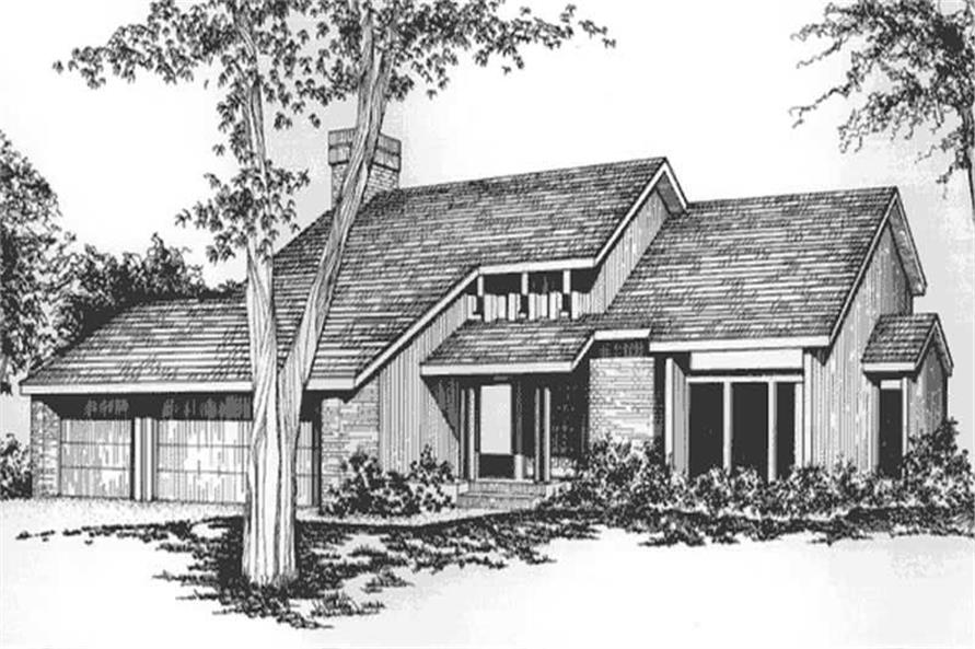 Main image for house plan # 21522