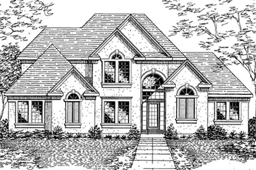 Main image for house plan # 21374