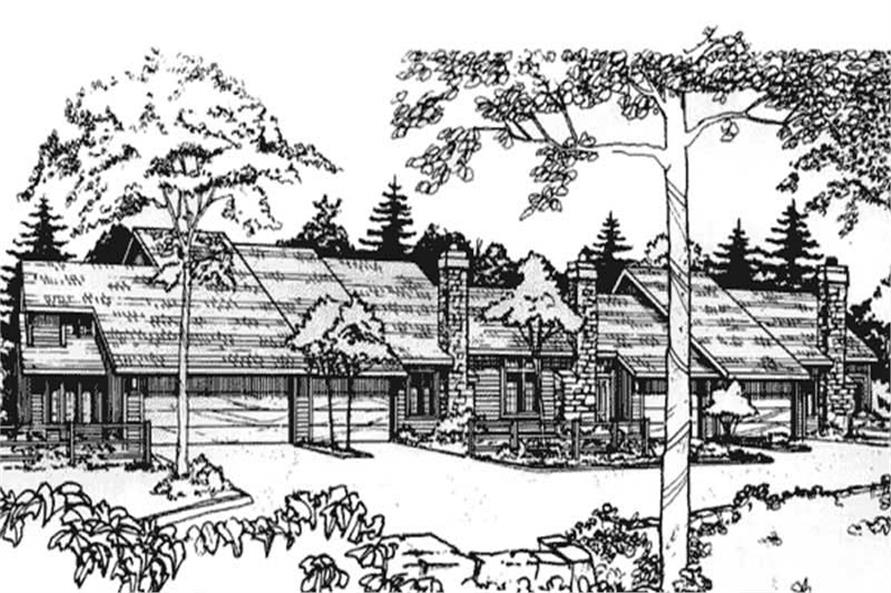 Main image for house plan # 21482