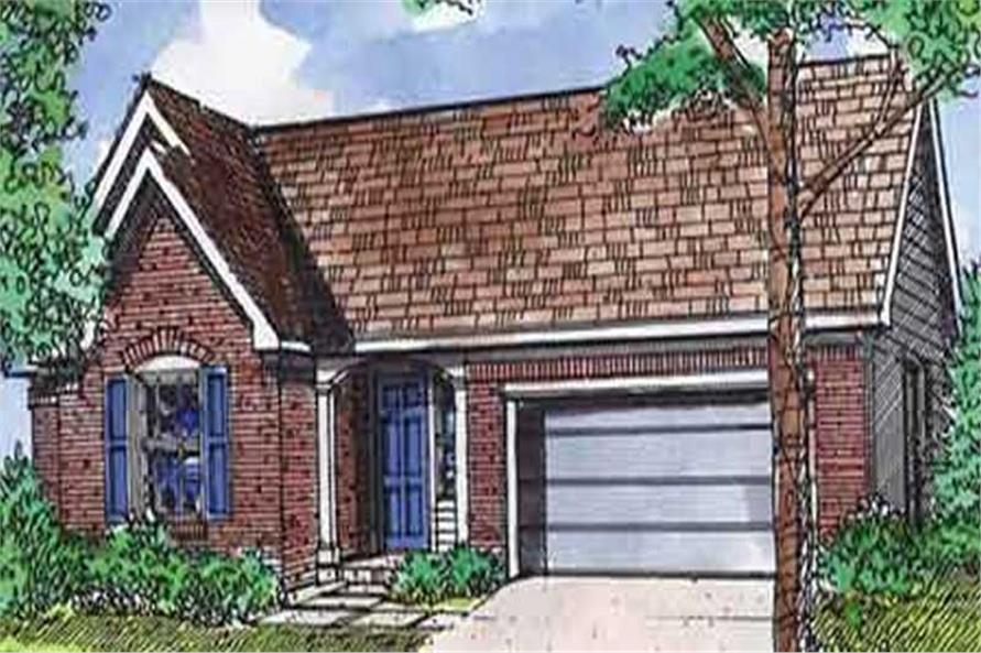 Main image for house plan # 21364