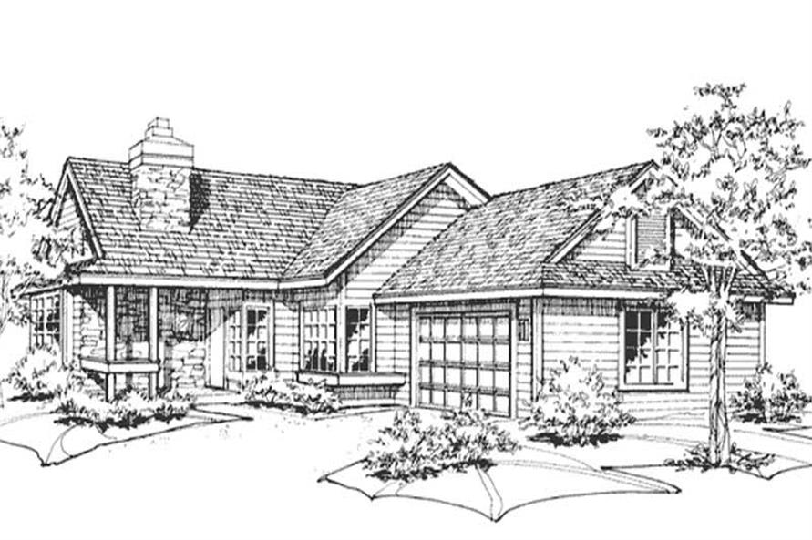 Main image for house plan # 21394