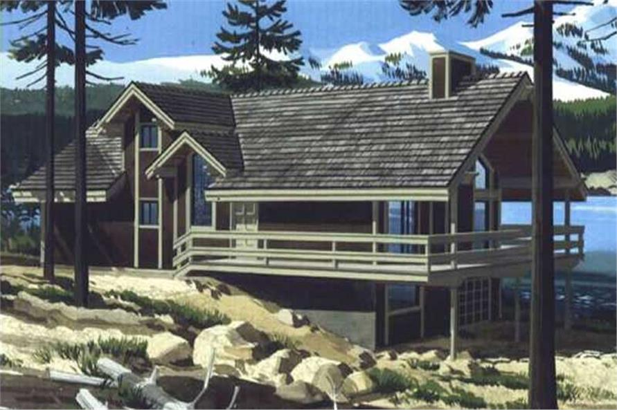 Color Rendering of these house plans.