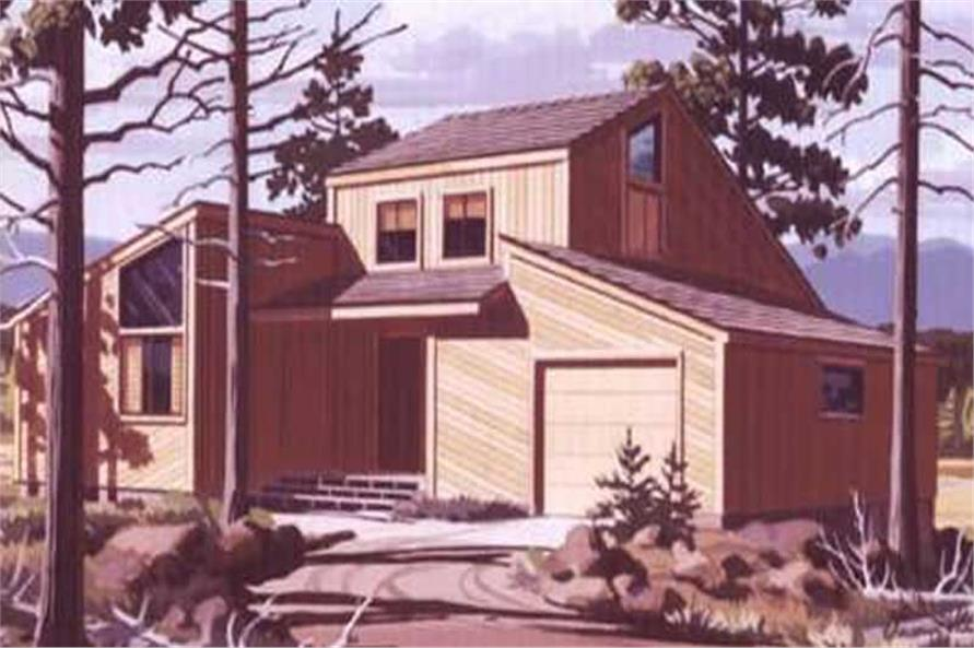 Color Rendering to these home plans