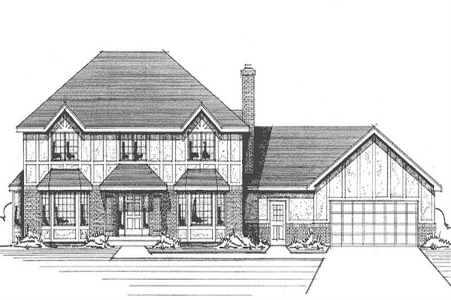 Main image for house plan # 21150