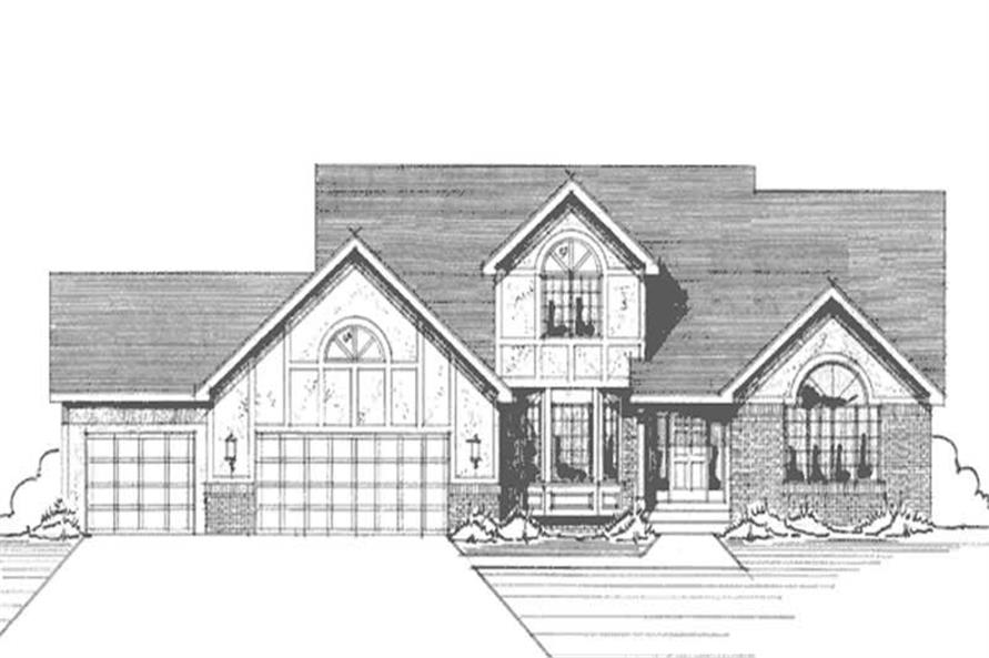 Main image for house plan # 21151