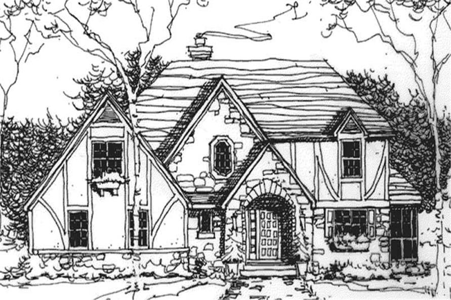 Main image for house plan # 21137