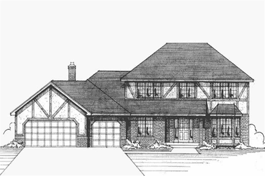Main image for house plan # 21133