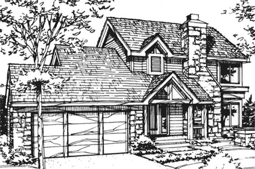 Main image for house plan # 21404