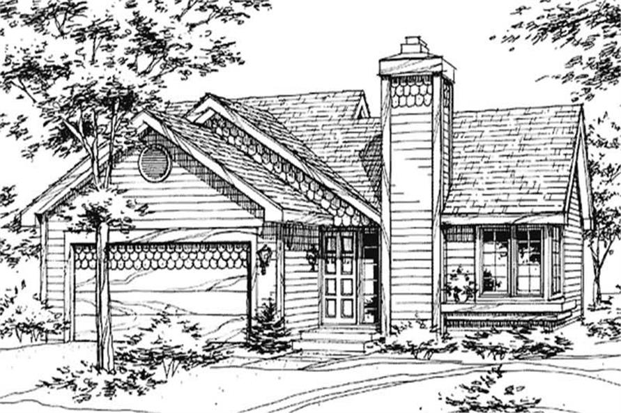Main image for house plan # 21427