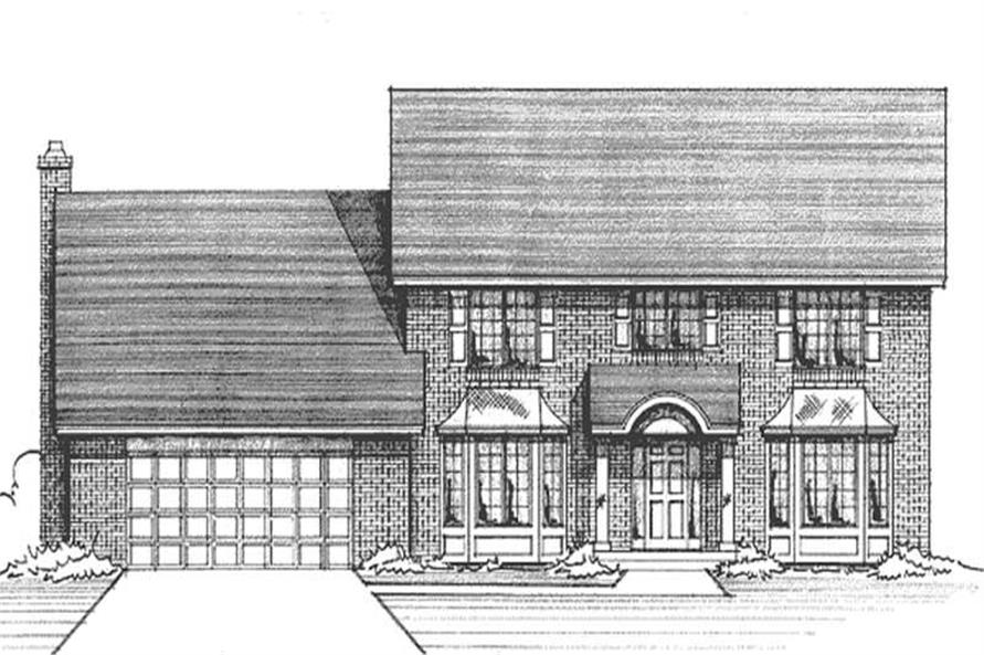 Main image for house plan # 21167
