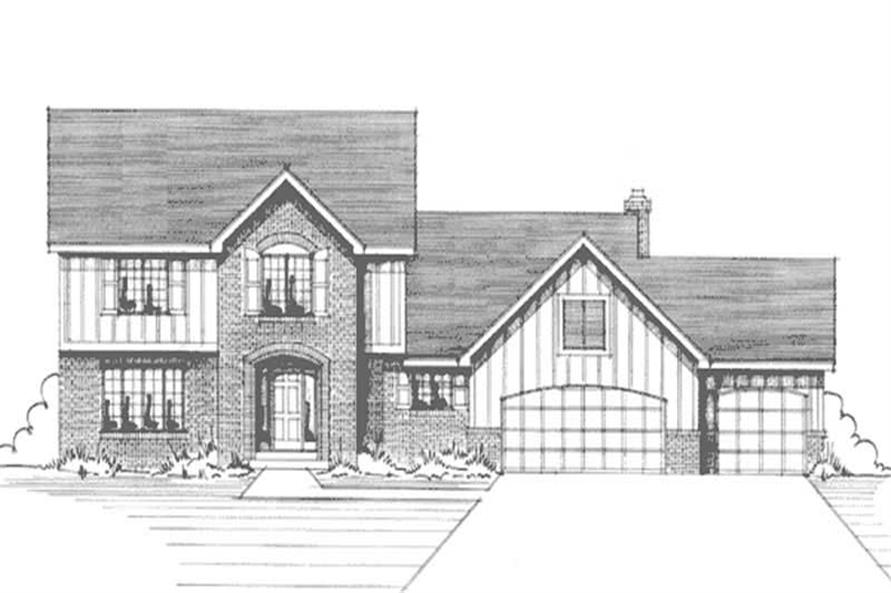 Main image for house plan # 21158