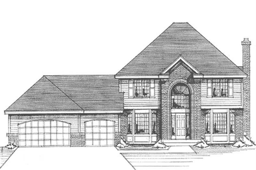 Main image for house plan # 21156
