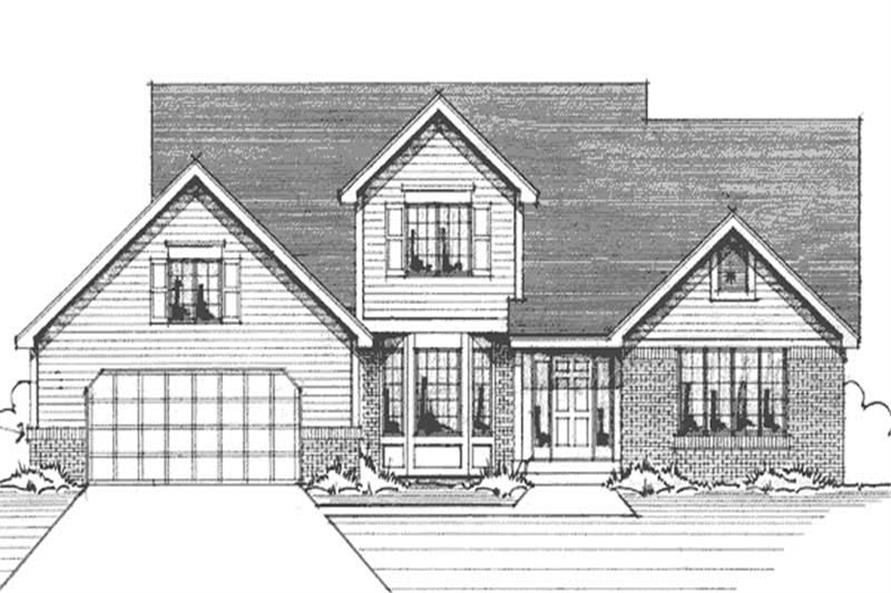 Main image for house plan # 21154