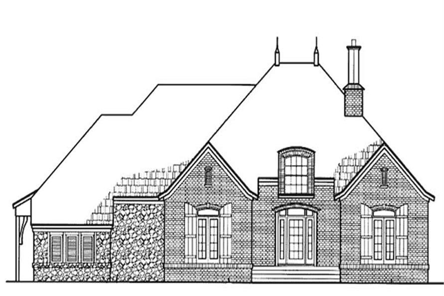 Main image for house plan # 20952