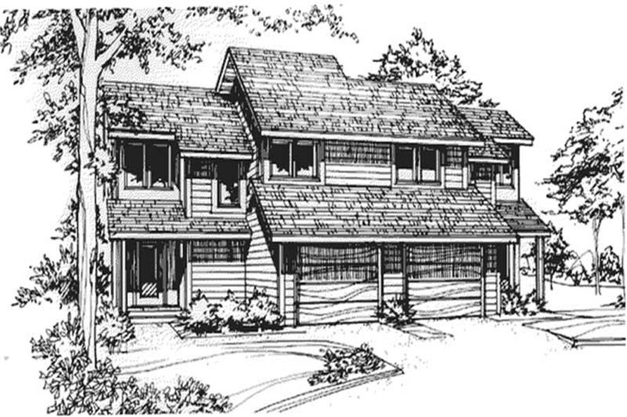 Main image for house plan # 21466