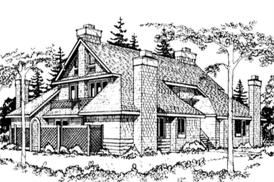 Main image for house plan # 21484