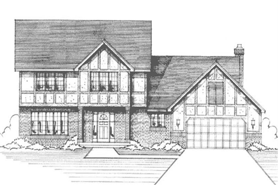 Main image for house plan # 20970