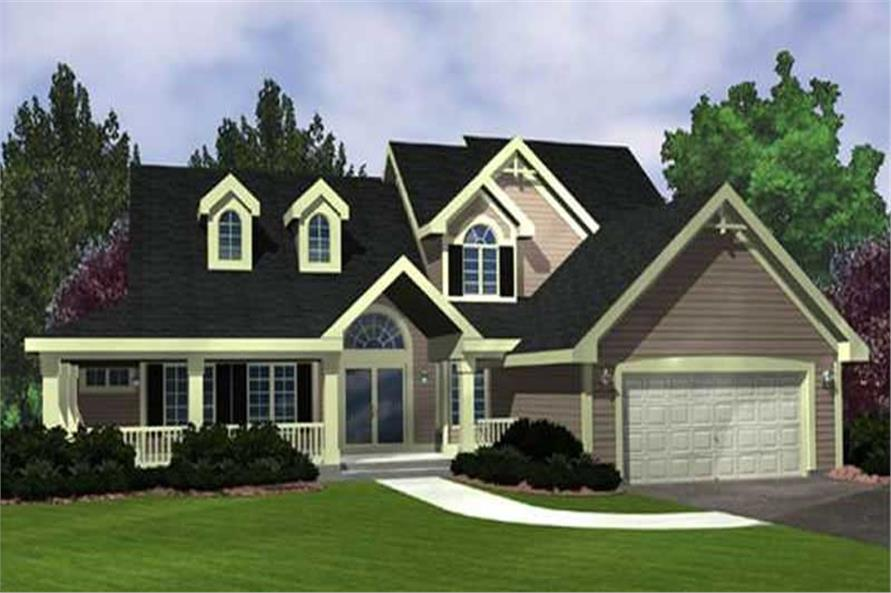 Main image for house plan # 21043