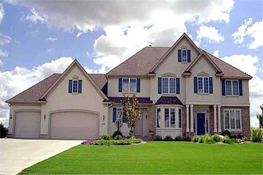 Main image for house plan # 21102