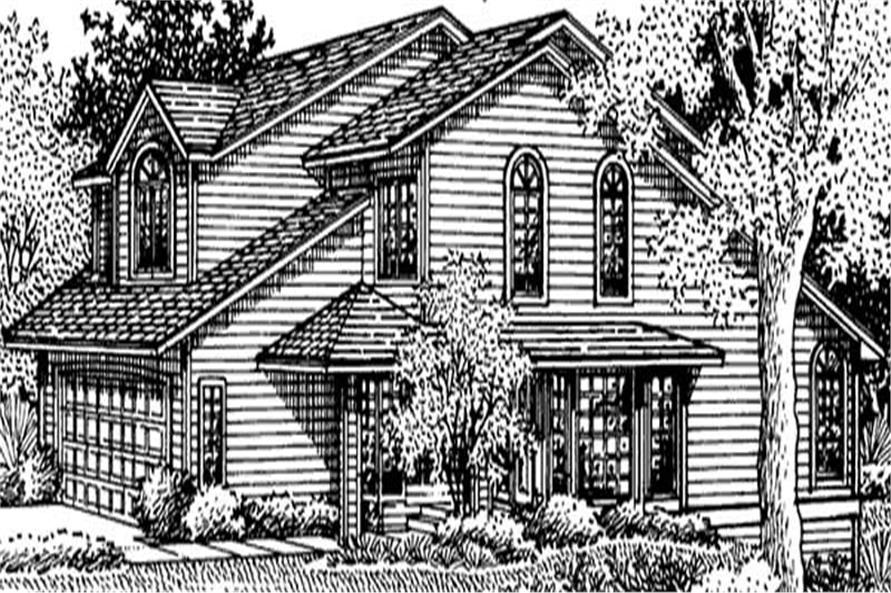 Main image for house plan # 20971