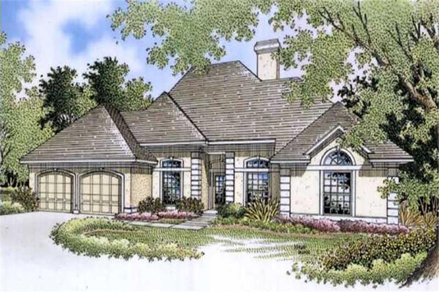 Main image for house plan # 20974