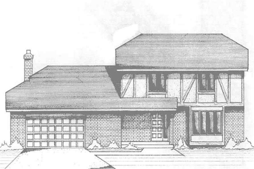 Main image for house plan # 21128