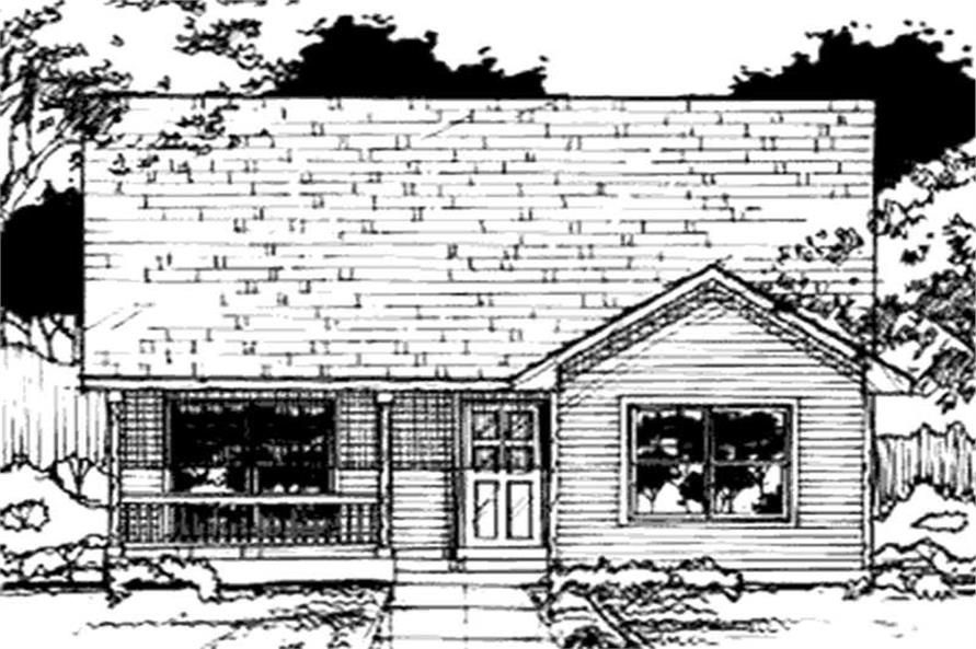 Main image for house plan # 21044