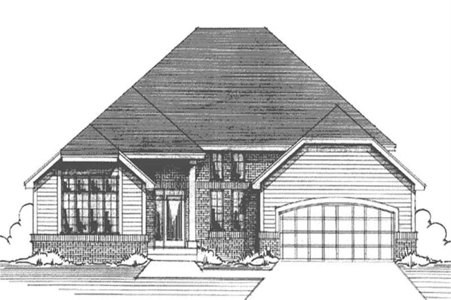 Main image for house plan # 20997