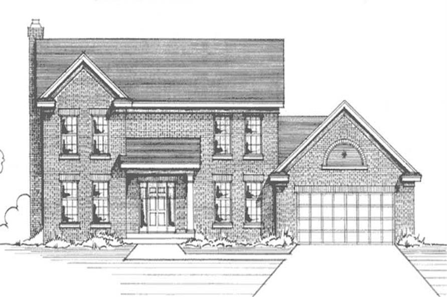 Main image for house plan # 21000