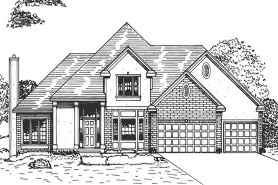 Main image for house plan # 21014