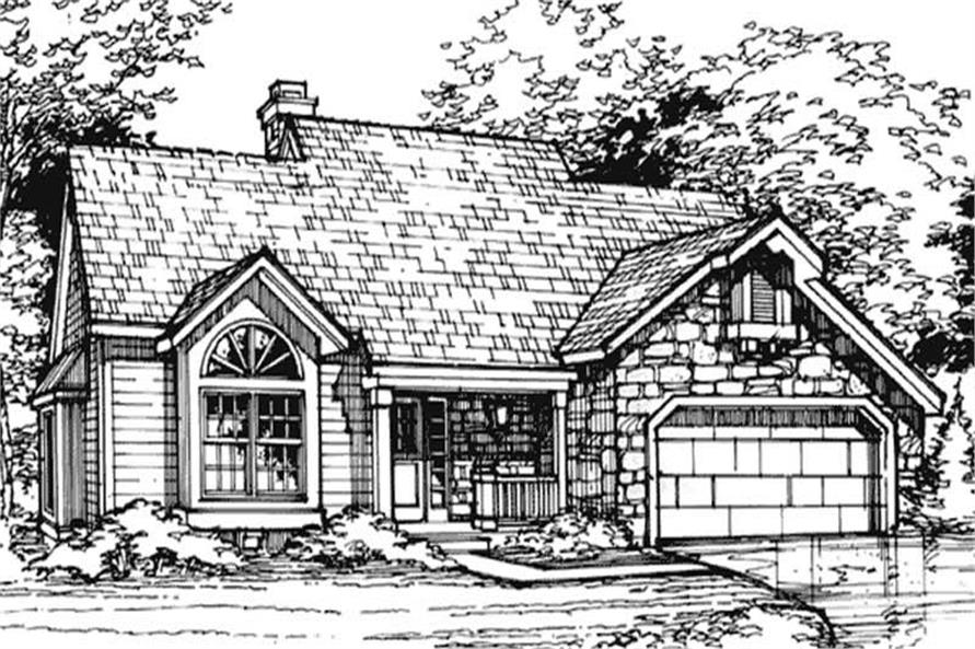Country Home Plans LS-B-90059 Main Image.