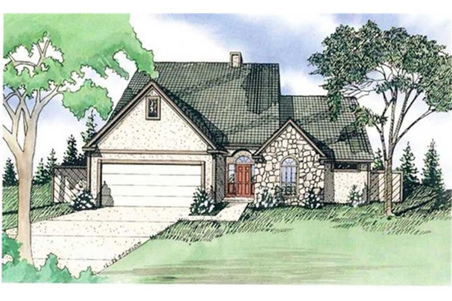 147-1011: Home Plan Rendering
