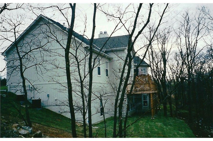 147-1040: Home Exterior Photograph-Rear View