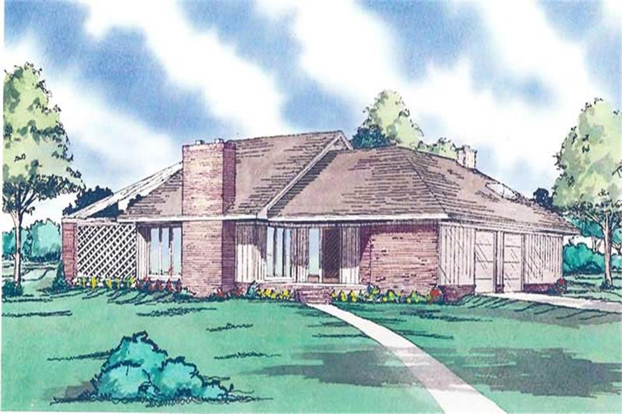 Main image for house plan # 19652