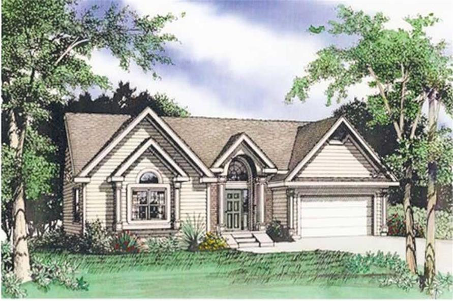 Main image for house plan # 19656