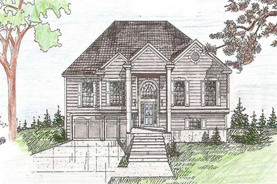 Main image for house plan # 19661