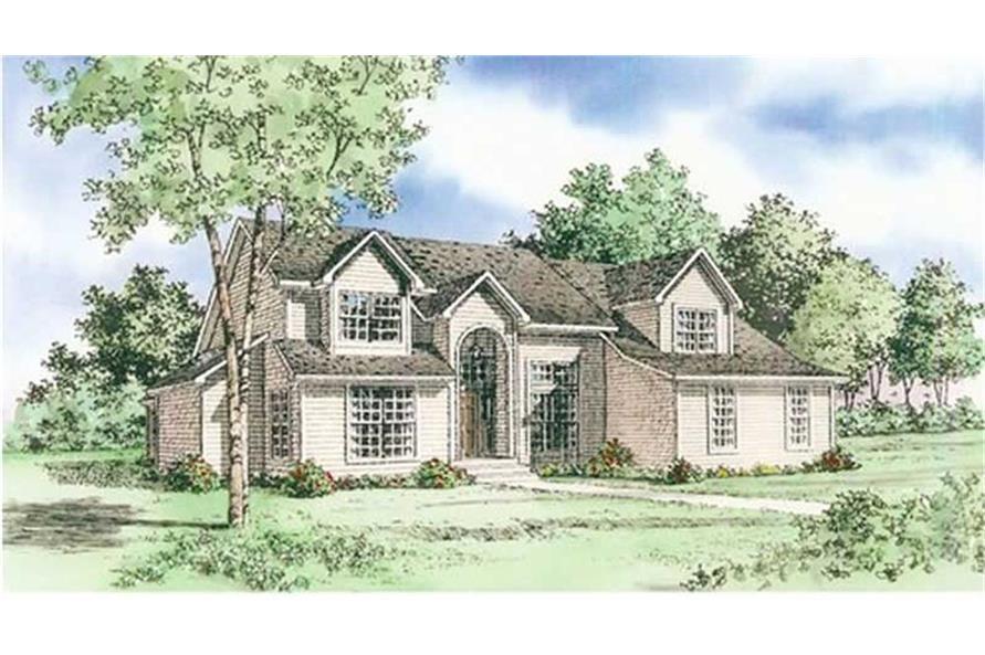 147-1116: Home Plan Rendering