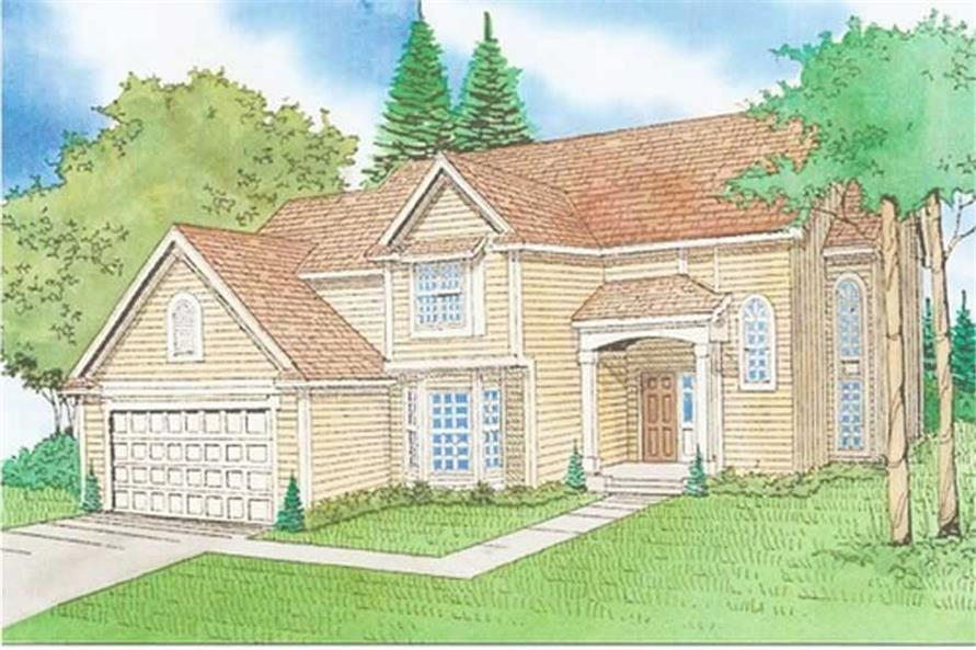 Main image for house plan # 19680