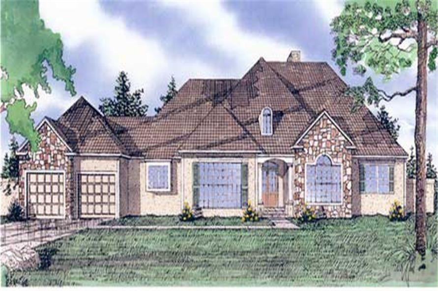 Main image for house plan # 19659