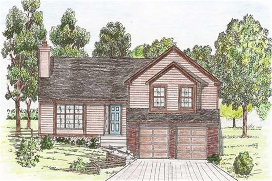 Main image for house plan # 19640