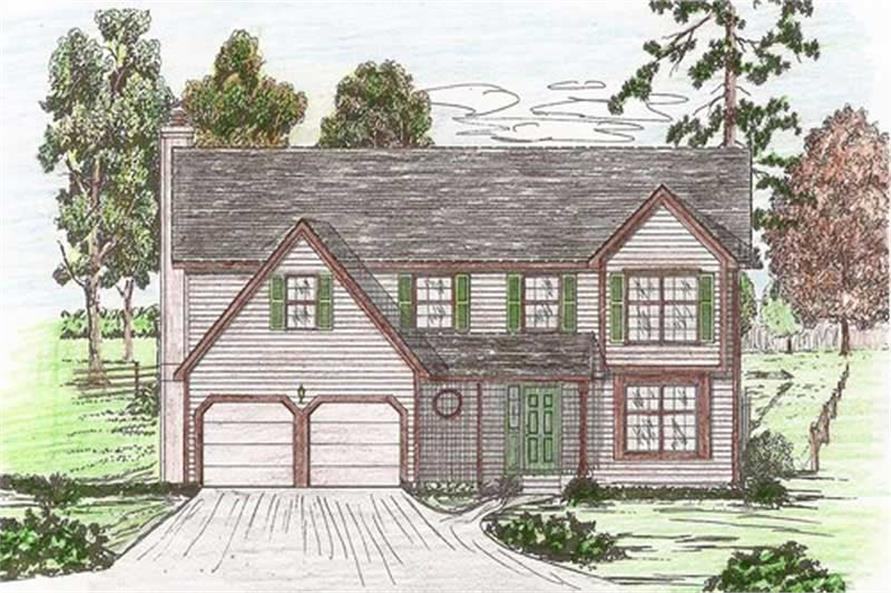 Main image for house plan # 19637