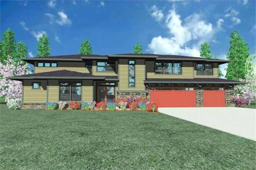 Main image for house plan # 16721