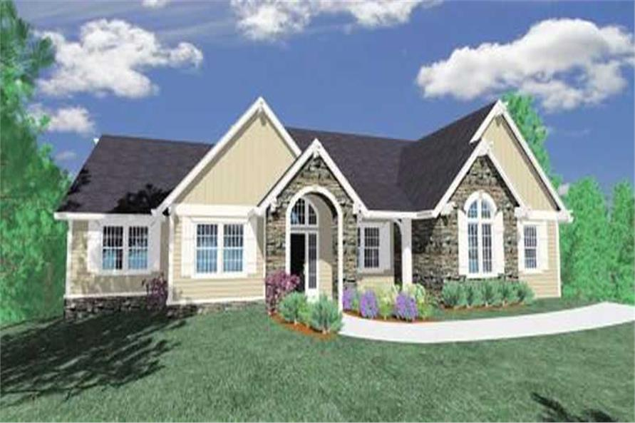 Main image for house plan # 16716