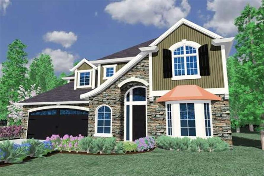 Main image for house plan # 16686