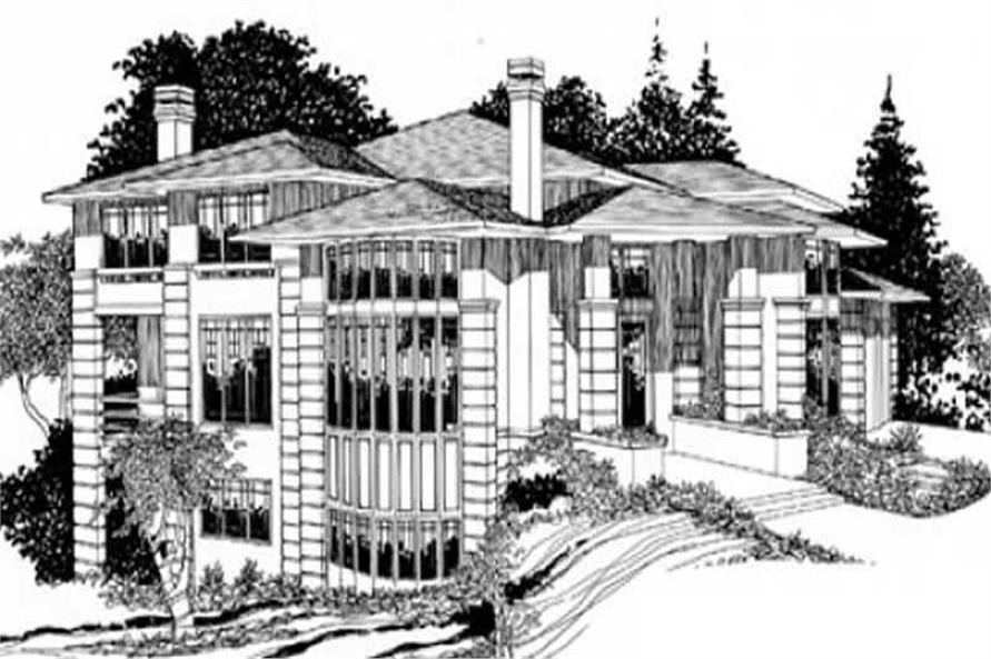 Main image for house plan # 16696