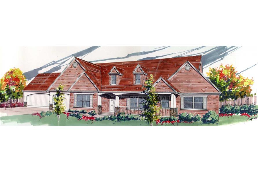 Main image for house plan # 16685