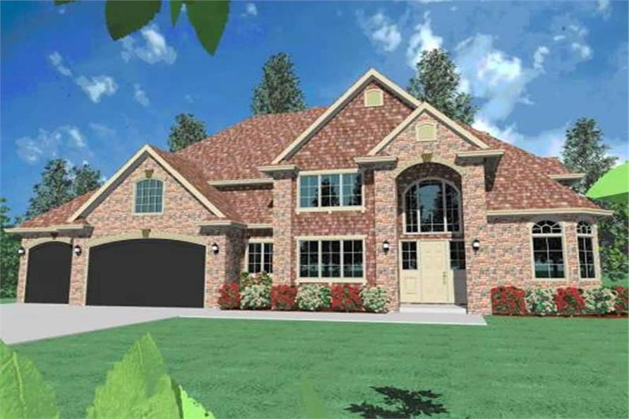 Main image for house plan # 16725