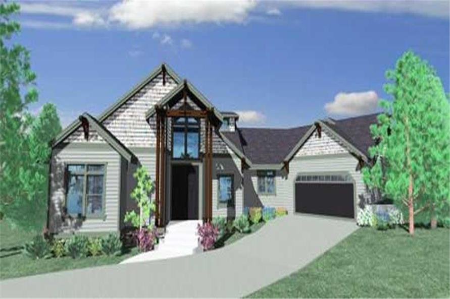 Main image for house plan # 16704